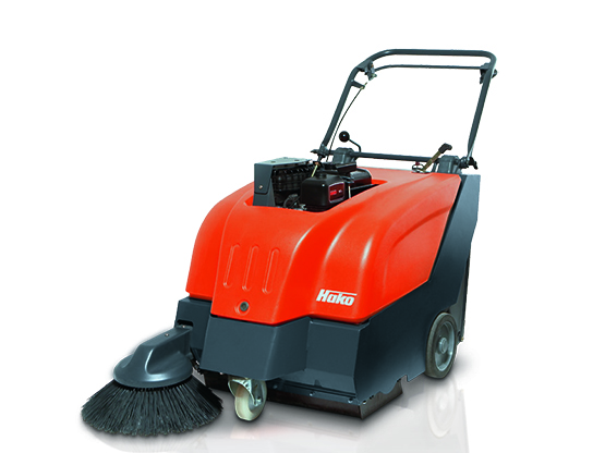 Hako Battery or Petrol Floor Sweeper - Sweepmaster B/P650