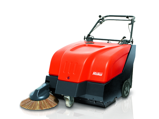 Hako Battery or Petrol Floor Sweeper - Sweepmaster B/P800
